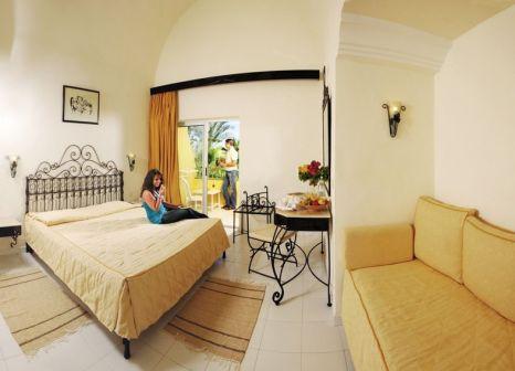 Hotelzimmer mit Volleyball im Ksar Djerba