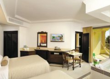 Hotelzimmer mit Mountainbike im Hard Rock Hotel Riviera Maya