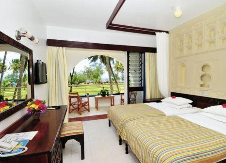 Hotelzimmer mit Volleyball im Reef Hotel Mombasa