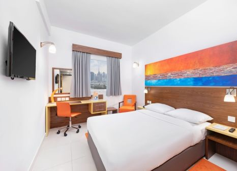 Hotelzimmer mit Pool im Citymax Hotel Bur Dubai