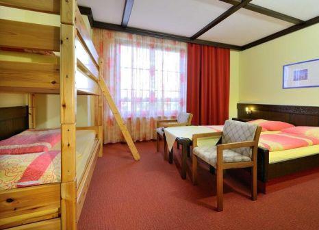Hotelzimmer mit Tischtennis im Mittagskogel