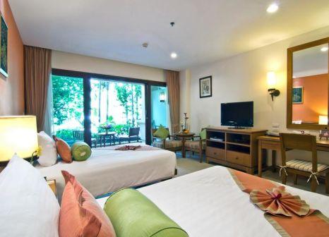 Hotelzimmer mit Volleyball im Ravindra Beach Resort