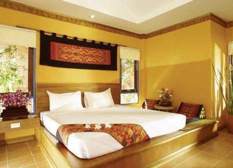 Hotelzimmer mit Mountainbike im Lawana Resort