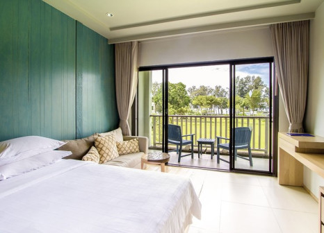Hotelzimmer mit Yoga im Dusit Thani Krabi Beach Resort