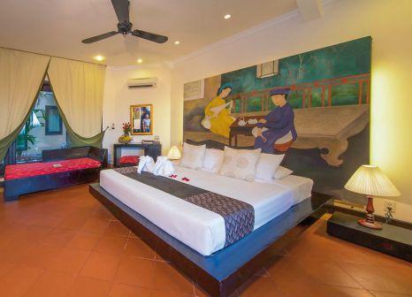 Hotelzimmer mit Mountainbike im Seahorse Resort & Spa