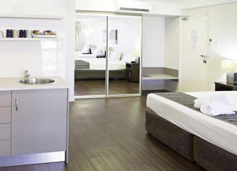 Hotelzimmer mit Restaurant im Cairns Plaza