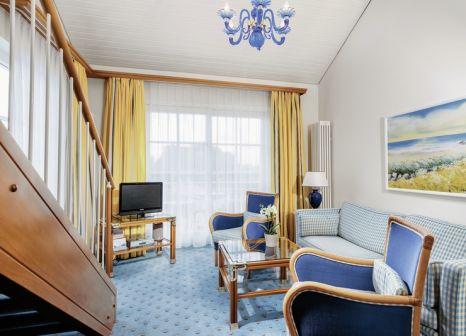 Hotelzimmer mit Sandstrand im Hotel Kleine Strandburg