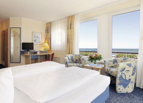 Hotelzimmer mit Tischtennis im Morada Resort Kühlungsborn
