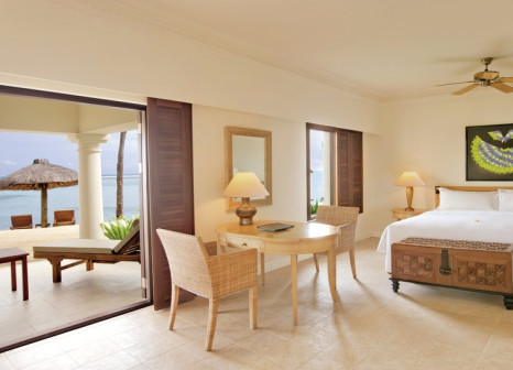 Hotelzimmer mit Mountainbike im Hilton Mauritius Resort & Spa