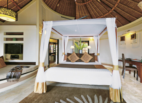 Hotelzimmer mit Fitness im Banyan Tree Vabbinfaru