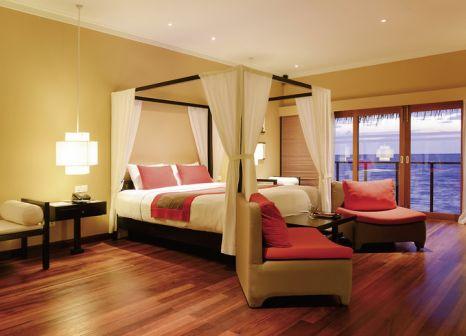 Hotelzimmer mit Tennis im Adaaran Select Hudhuranfushi