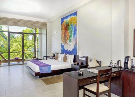 Hotelzimmer mit Mountainbike im Taprobana Wadduwa