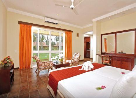 Hotelzimmer mit Mountainbike im Club Palm Bay Marawila