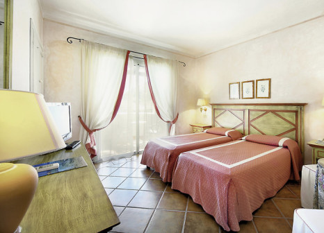 Hotelzimmer mit Golf im Colonna Park Hotel Porto Cervo