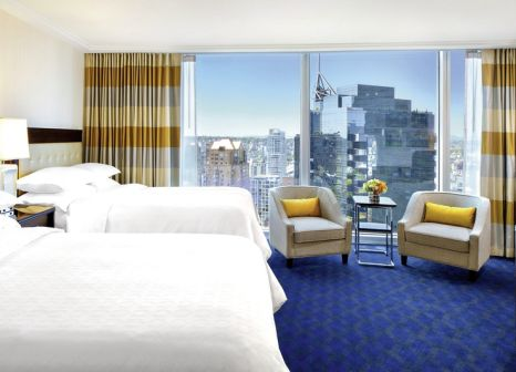 Hotelzimmer mit Fitness im Sheraton Vancouver Wall Centre