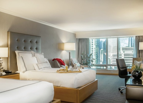 Hotelzimmer mit Kinderpool im Pan Pacific Vancouver