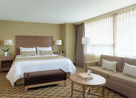Hotelzimmer mit Tischtennis im Chelsea Hotel Toronto