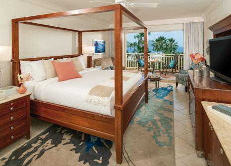 Hotelzimmer mit Volleyball im Sandals Grande St. Lucian