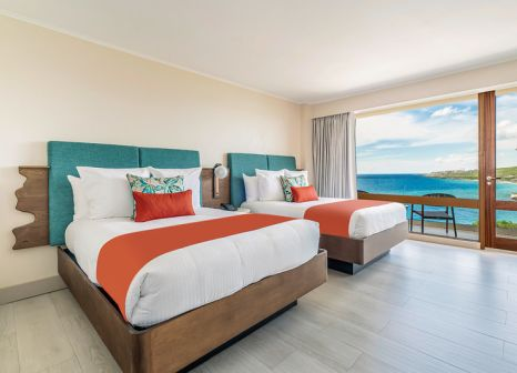 Hotelzimmer mit Volleyball im Dreams Curaçao Resort, Spa & Casino by AMR Collection