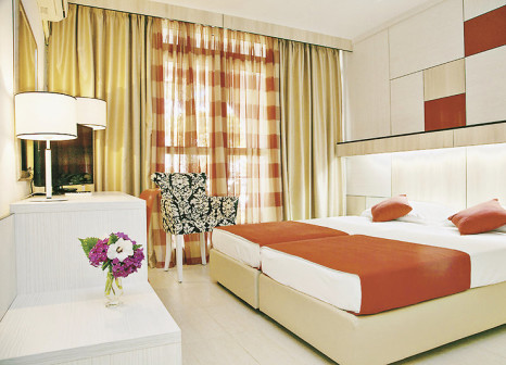 Hotelzimmer mit Volleyball im Resort Slovenska Plaža