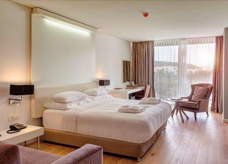 Hotelzimmer mit Mountainbike im Rixos Premium Dubrovnik
