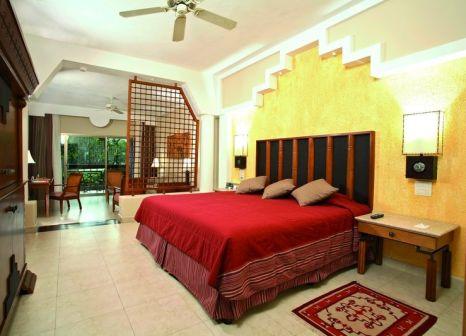 Hotelzimmer mit Volleyball im Iberostar Selection Paraíso Maya