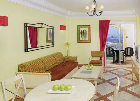 Hotelzimmer mit Mountainbike im Las Aguilas