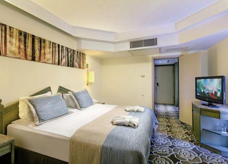 Hotelzimmer mit Yoga im Xanadu Resort Hotel Belek
