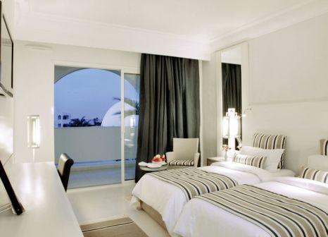 Hotelzimmer mit Mountainbike im Djerba Plaza Thalasso & Spa
