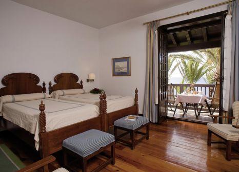 Hotelzimmer mit Tischtennis im Parador de La Gomera