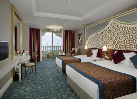 Hotelzimmer mit Volleyball im Royal Taj Mahal