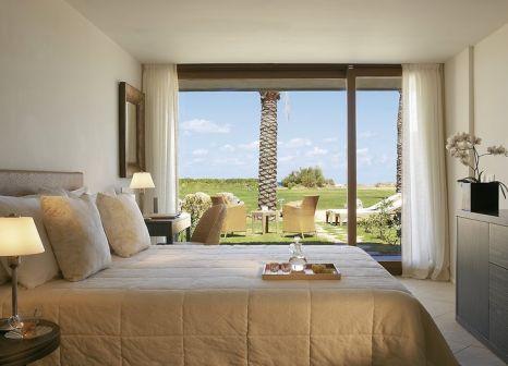 Hotelzimmer mit Volleyball im Amirandes Grecotel Boutique Resort