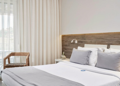 Hotelzimmer mit Tischtennis im Antigoni Beach Resort
