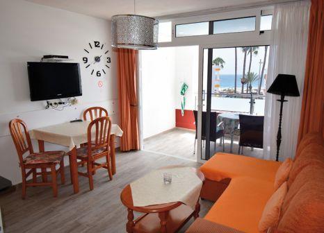 Hotelzimmer mit Sandstrand im Apartamentos Bogota
