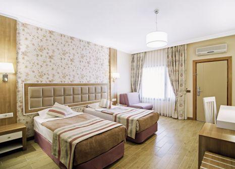 Hotelzimmer mit Volleyball im Kustur Club Holiday Village