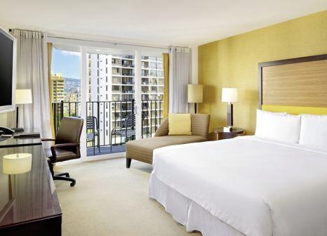 Hotelzimmer mit Tennis im Hilton Waikiki Beach