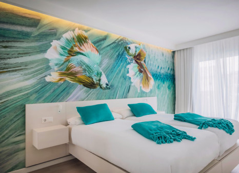 Hotelzimmer mit Mountainbike im Iberostar Alcudia Park