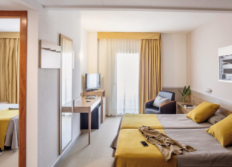 Hotelzimmer mit Volleyball im Aqua Hotel Promenade