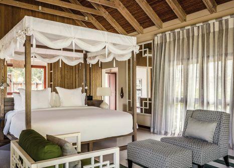 Hotelzimmer mit Mountainbike im Four Seasons Resort Seychelles at Desroches Island