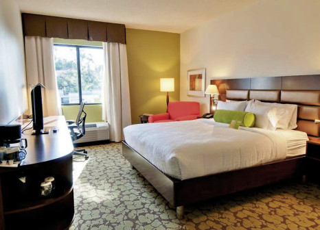 Hotelzimmer mit Pool im Hilton Garden Inn Los Angeles/Hollywood