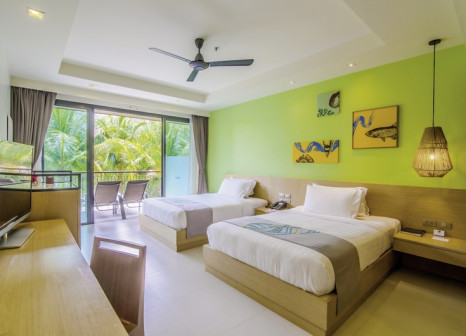 Hotelzimmer mit Golf im Holiday Inn Resort Krabi Ao Nang Beach