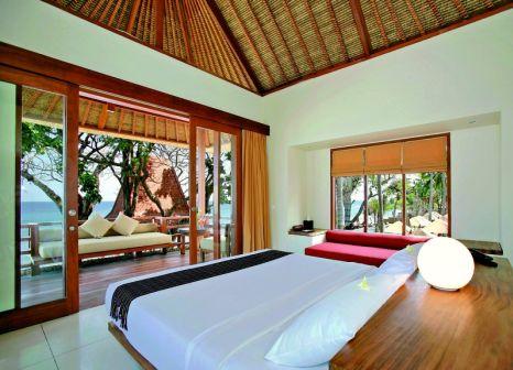 Hotelzimmer mit Yoga im Qunci Villas