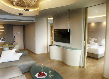 Hotelzimmer mit Mountainbike im Rodos Palace