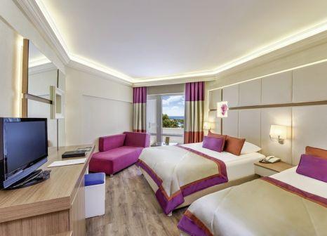 Hotelzimmer mit Mountainbike im Botanik Hotel & Resort