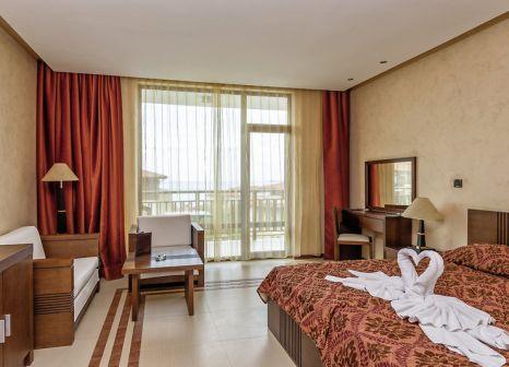 Hotelzimmer mit Mountainbike im Garden of Eden