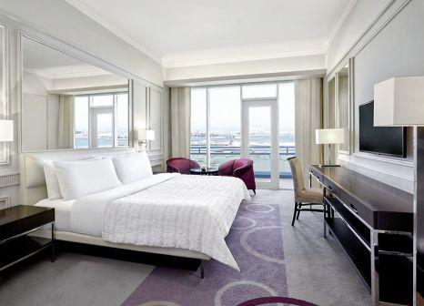 Hotelzimmer mit Yoga im Le Meridien Mina Seyahi Beach Resort & Marina
