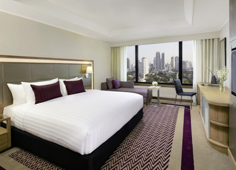 Hotelzimmer mit Tennis im AVANI Atrium Bangkok