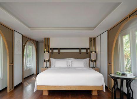 Hotelzimmer mit Tischtennis im Meliá Koh Samui Beach Resort