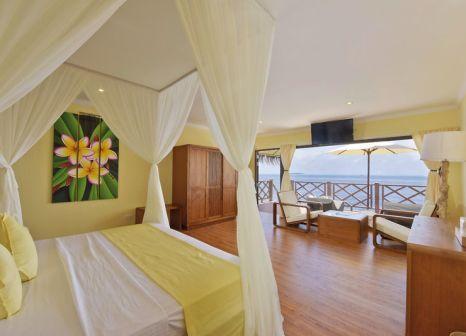 Hotelzimmer mit Tischtennis im Thulhagiri Island Resort & Spa