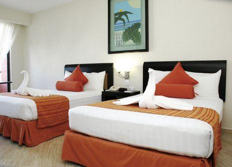Hotelzimmer mit Volleyball im Crown Paradise Club Cancún